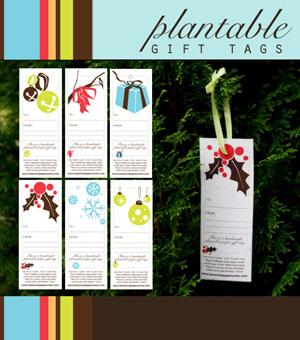 Botanical Paperworks Plantable Gift Tags