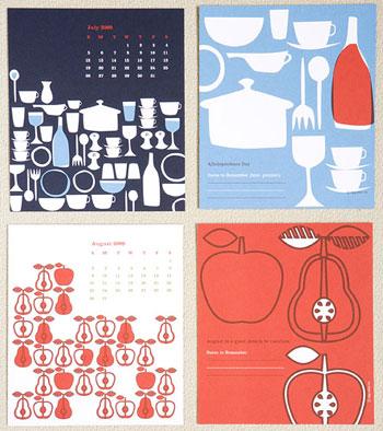 Egg Press Offset 2009 Calendar