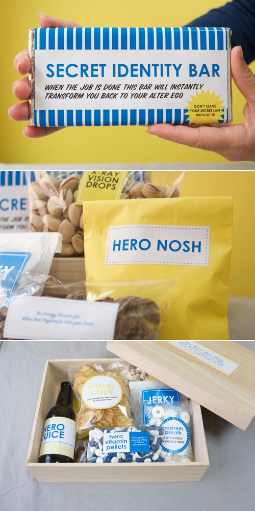 DIY Father's Day Gift + Printable Labels
