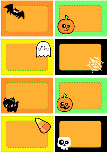 Halloween Labels Printable