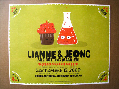 Erin Jang Wedding Invitations
