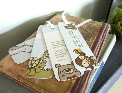 Isabell's Umbrella Bookmarks