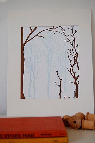 12fifteen Letterpress Art Print