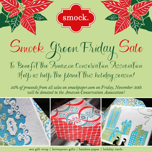 Smock Green Friday Sale