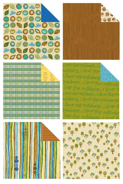 Love, Elsie Forrest Scrapbooking Paper