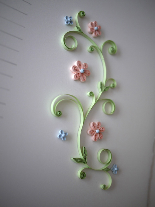 Ann Martin Quilled Marriage Certificate