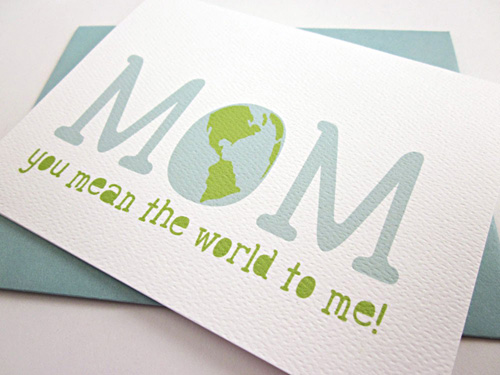 Monkey Mind Design Mother's Day Card