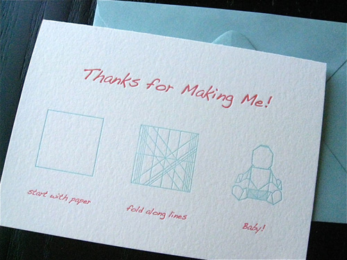 Fat Bunny Press Letterpress Mother's Day Cards