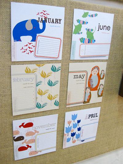 Cat Seto Baby Milestone Calendar
