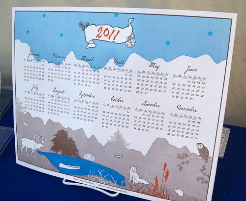 Flora & Fauna Press 2011 Calendar