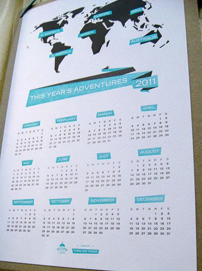 Igloo Press 2011 Calendar