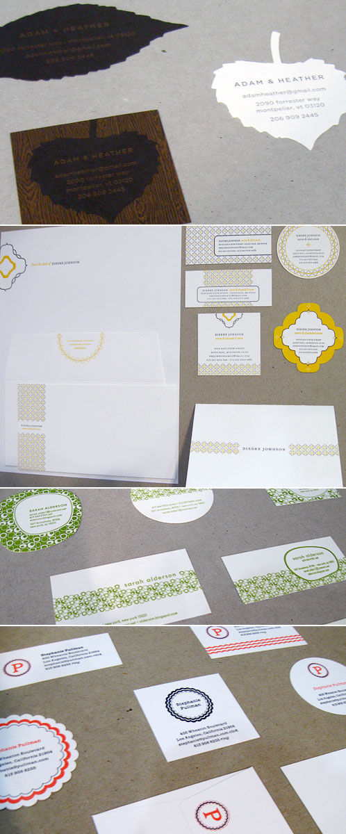 Spark Letterpress Stationery Love Album