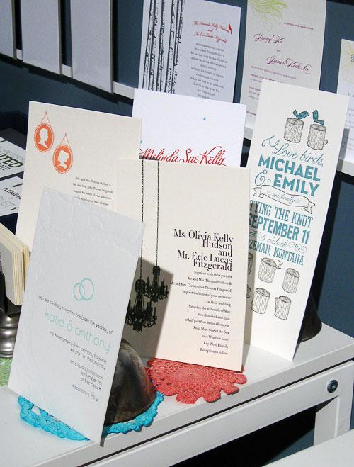 Thomas Printers Letterpress Wedding Invitations