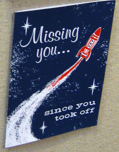 Two Trick Pony Missing You Card