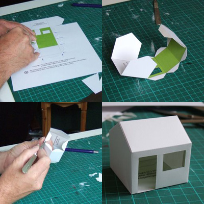Paper House Templates by Mike Wilson - Paper Crave