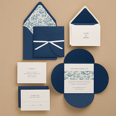 the paper source wedding collection  paper crave, invitation samples
