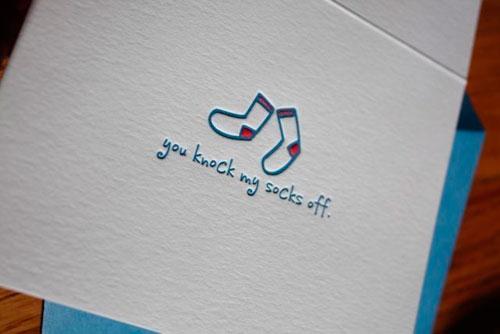 Paper Wheel Letterpress Cards