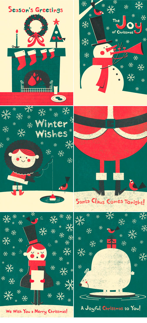 Steve Mack Holiday Cards