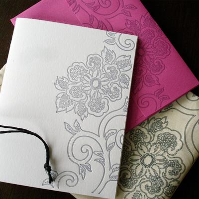 Tutta Lou Letterpress Note Cards
