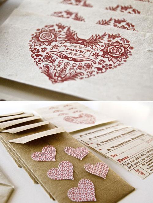 Plantable Mini Valentine's Day Cards