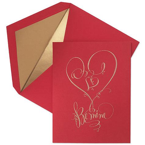 Crane's Engraved Valentine's Day