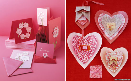 Paper Heart Valentine Gift Wrap