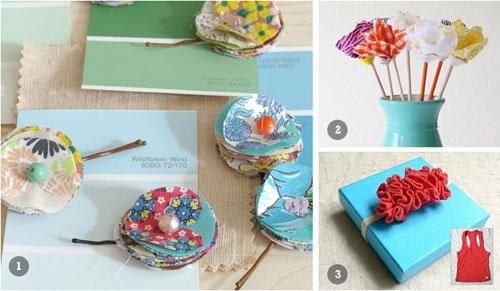 DIY Summer Gift Wrap Ideas
