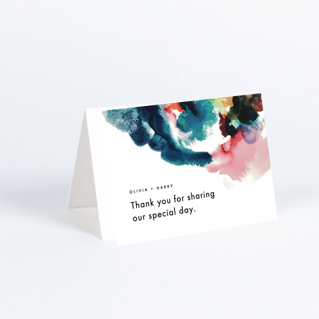 Gallery Art Wedding Thank You Cards Paper Culture