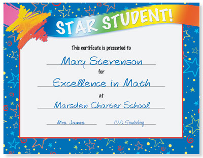 Student Recognition Ideas  Certificates That Work PaperDirect Blog