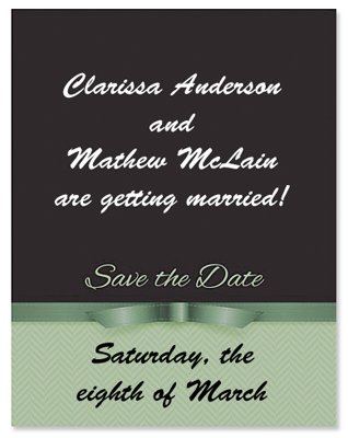 Save the Date Samples PaperDirect Blog