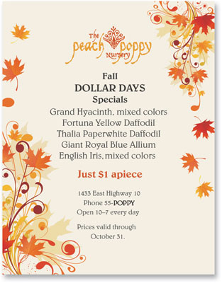 Scrolling Maple Border Papers PaperDirect Blog