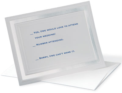 Wedding Invitations \u2013 Response Cards and Their Wording PaperDirect - wedding response postcards