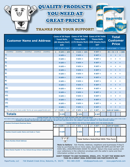 Toilet-Paper-Fundraiser-Free-Order-Forms-Back \u2013 PaperFunds