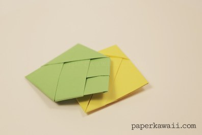 Origami Bamboo Letter Fold
