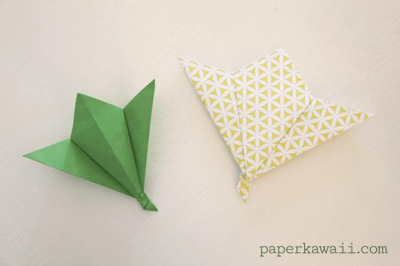 Origami Leaf Tutorial – Easy!
