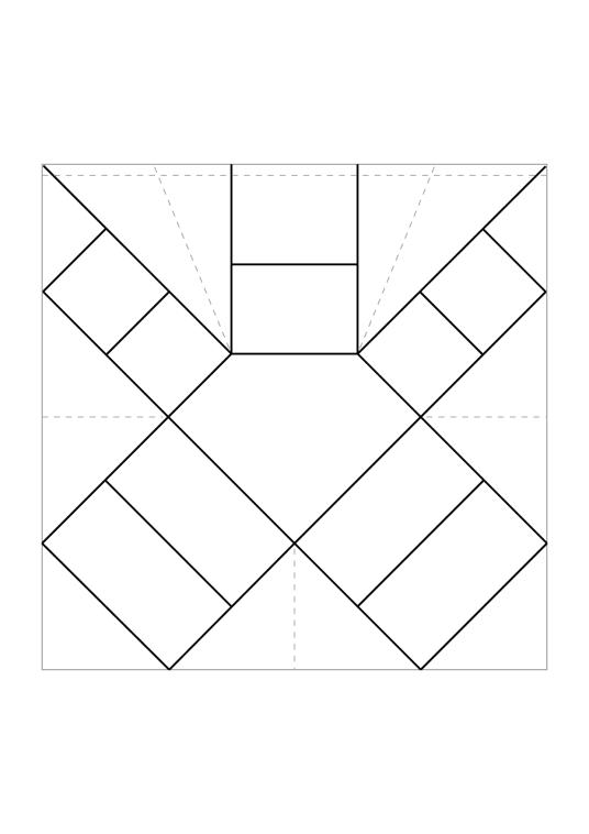free printable origami crystal box tutorial paper kawaii. Black Bedroom Furniture Sets. Home Design Ideas