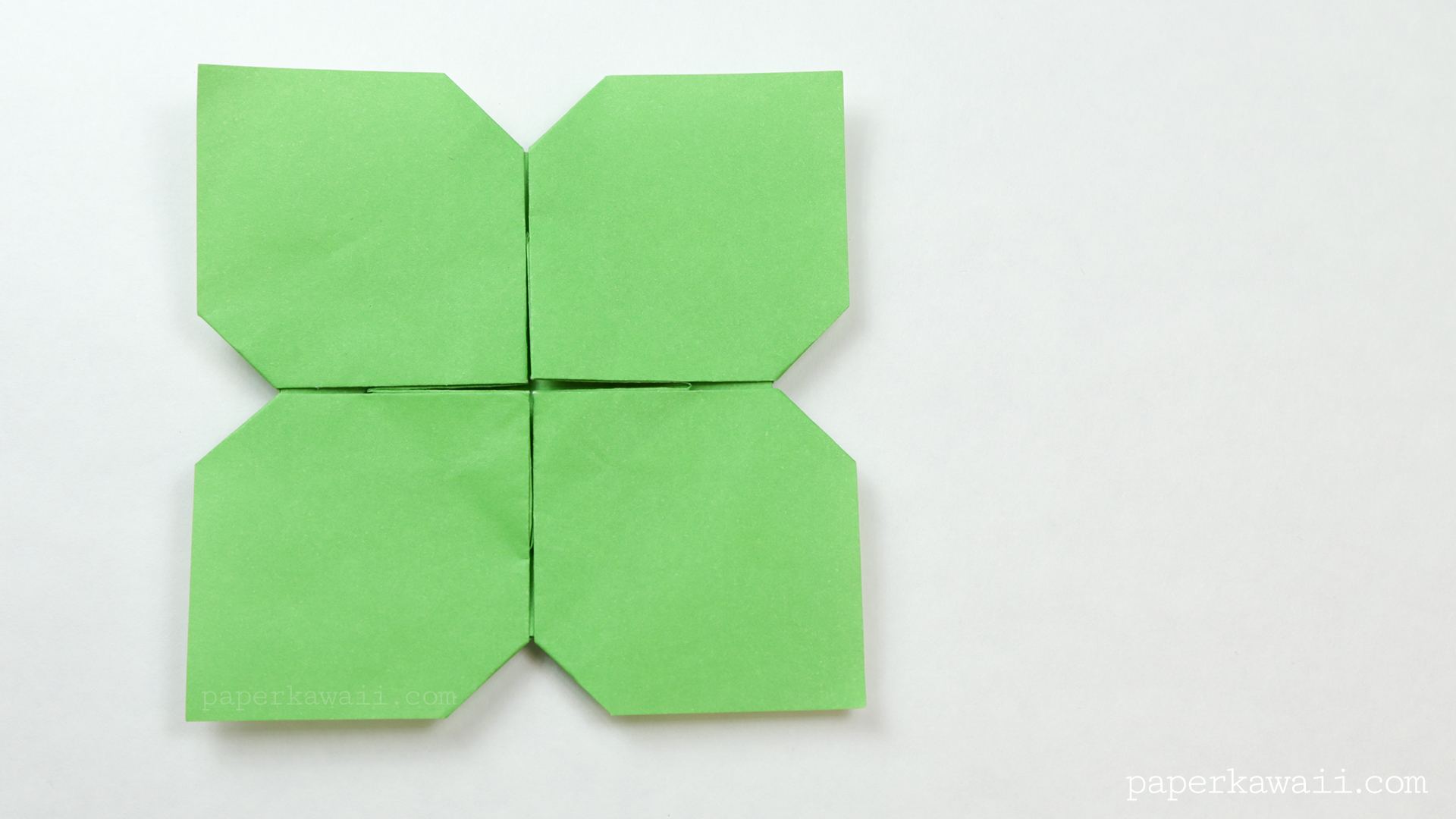 Origami Flower Instructions Youtube