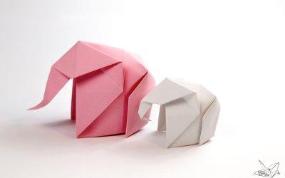 Origami Elephant Tutorial