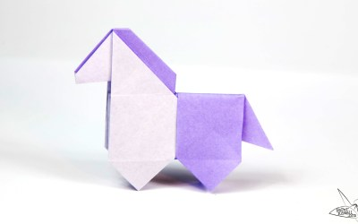 Origami Horse Tutorial – Cute Origami Pony!
