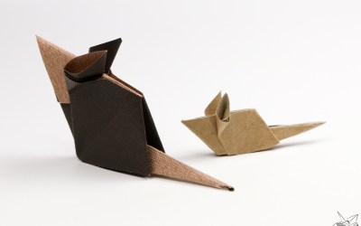 Origami Mouse Tutorial