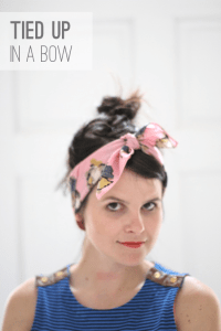 6 Ways to Style a Silk Scarf - Paper and Stitch