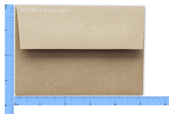 A1 / 4-BAR Envelopes - PaperPapers Blog - response envelope sizes