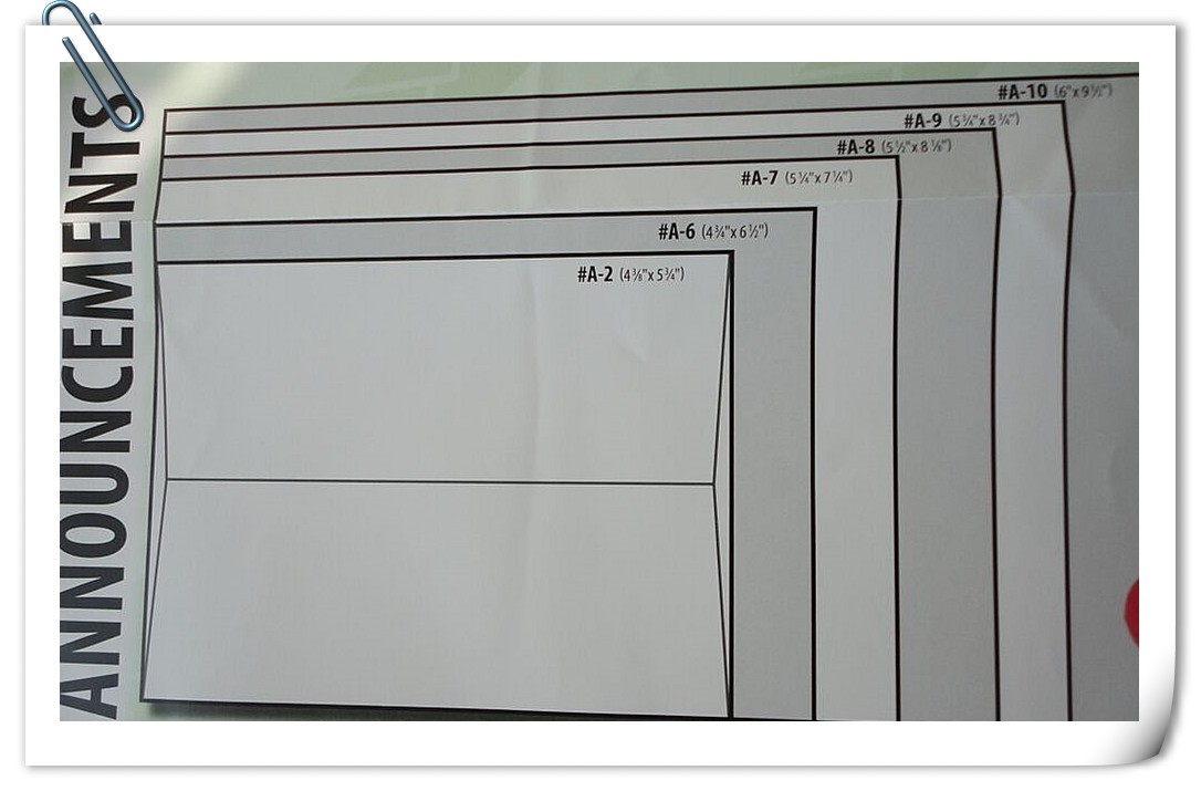 How to Choose the Right Envelope Size? - PaperPapers Blog