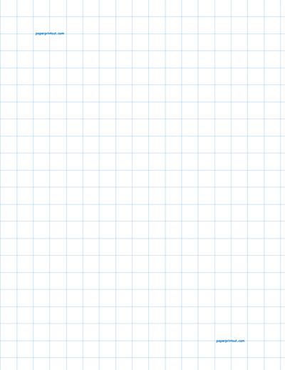 Graph Paper to Print - Free Printable Graph Paper Printout