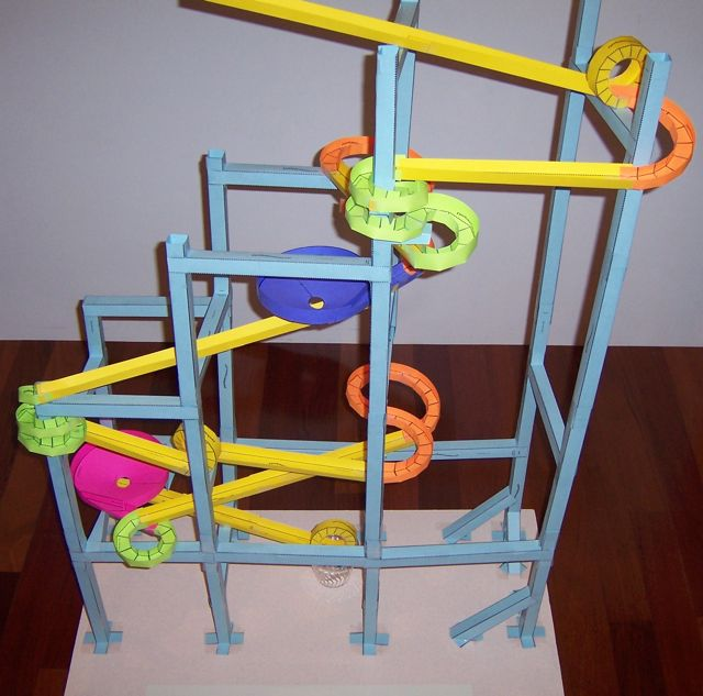 Print Paper Roller Coasters - paper roler