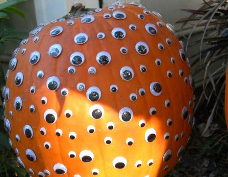 Eyeball Covered Pumpkin PSK