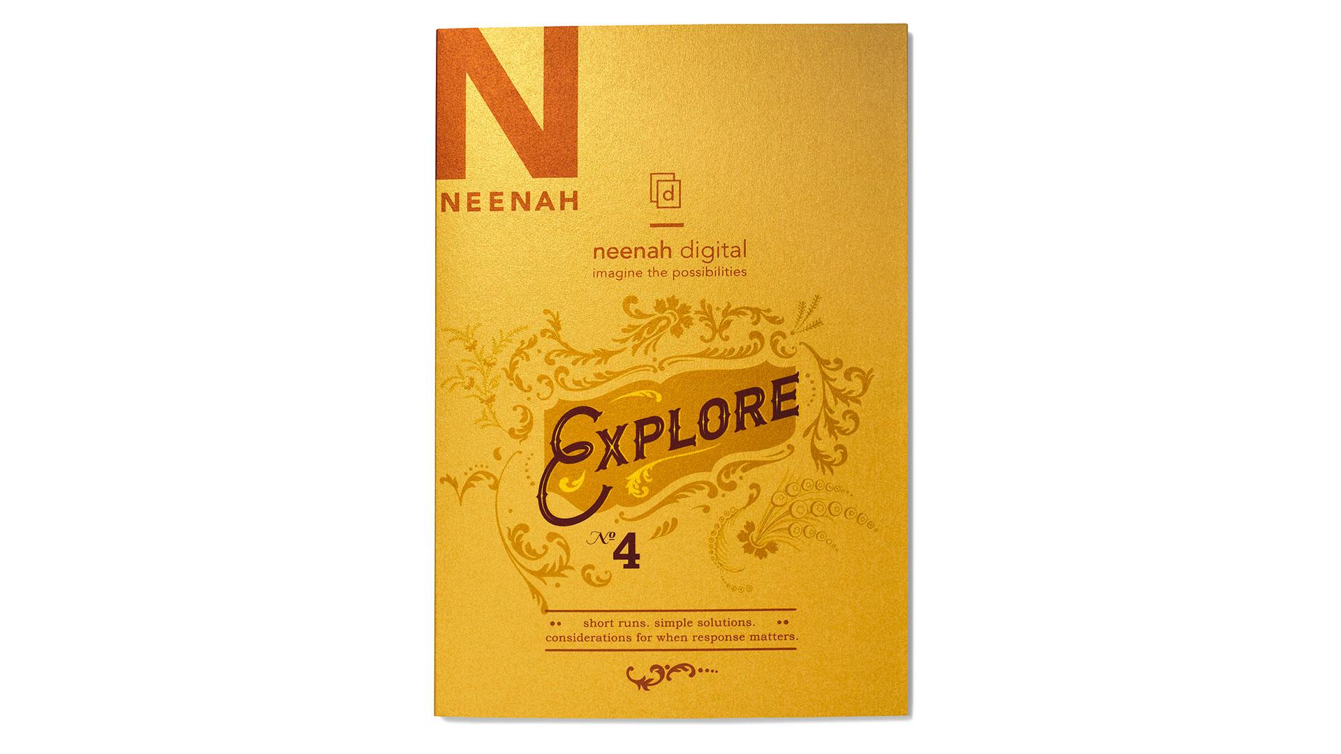 Neenah Explore 4 Ideas For Digitally Printed Short Runs