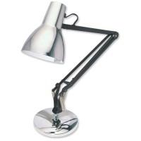 Helix VL1 Desk Lamp Adjustable Fluorescent H750mm 11W Chrome