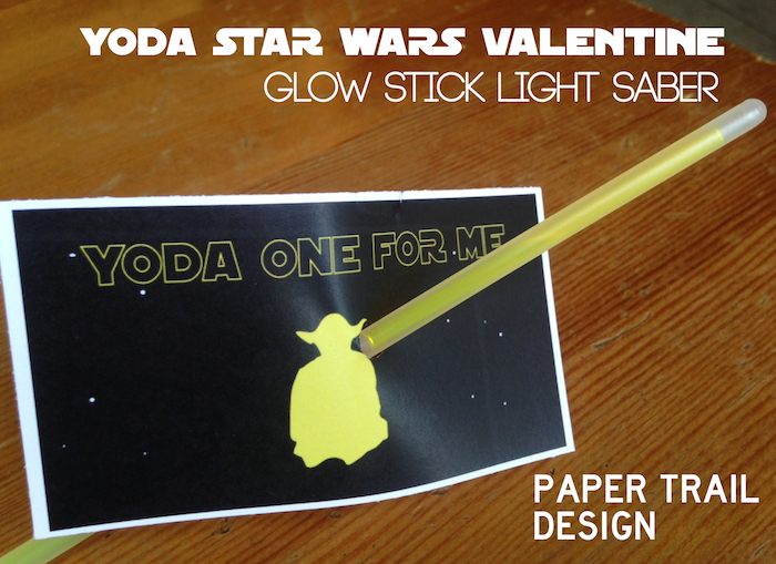 Star Wars Valentine Printable {Yoda Valentine} - Paper Trail Design