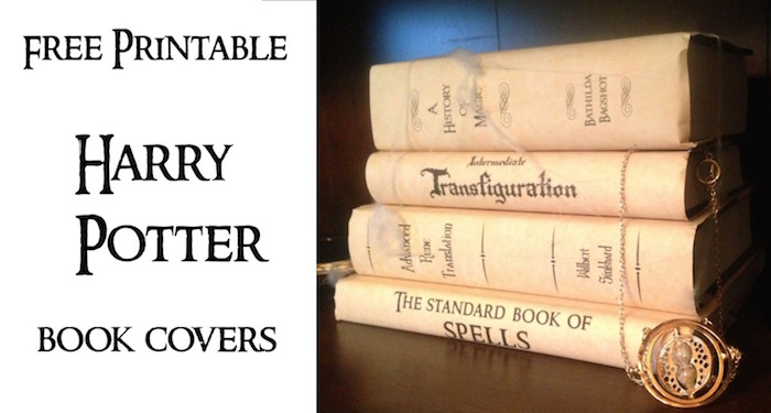 Harry Potter Book Covers Free Printables - Paper Trail Design